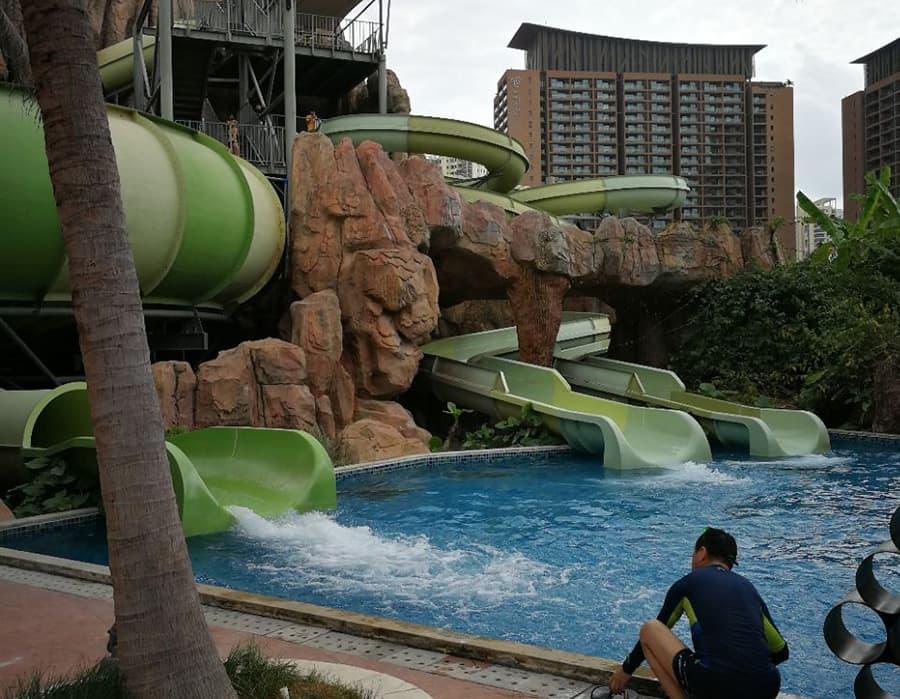 китай о хайнань фото отели с аквапарком лестница несет