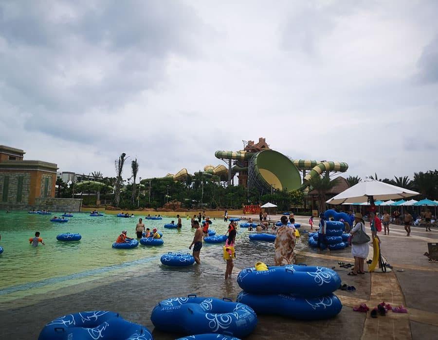 Китай о хайнань фото отели с аквапарком
